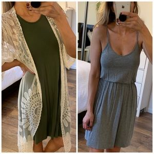 (2) Old Navy knee length dresses